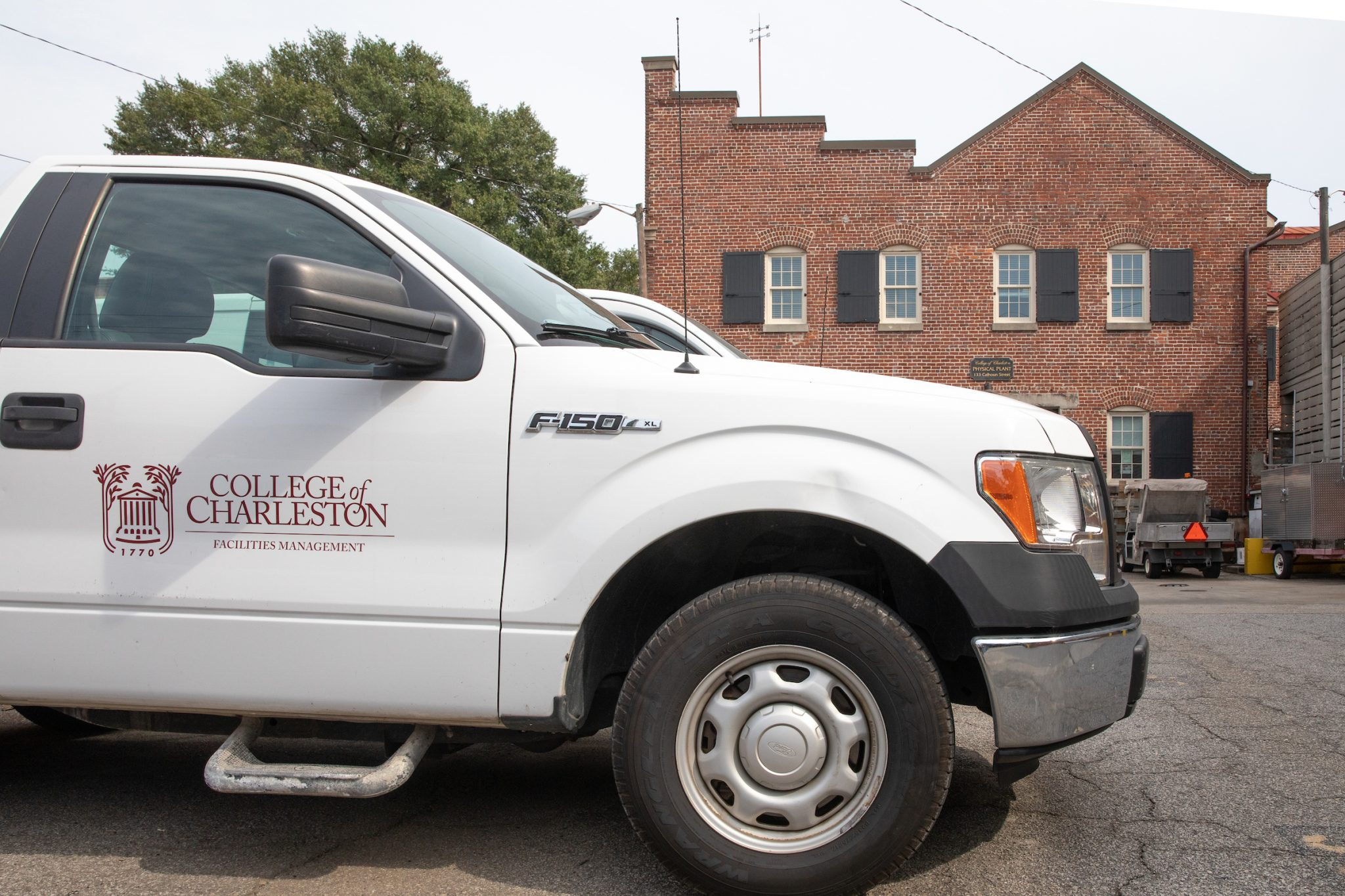 Facilities Management Truck