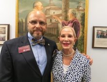 New Painting Celebrates CofC's Trujillo Program Benefactors