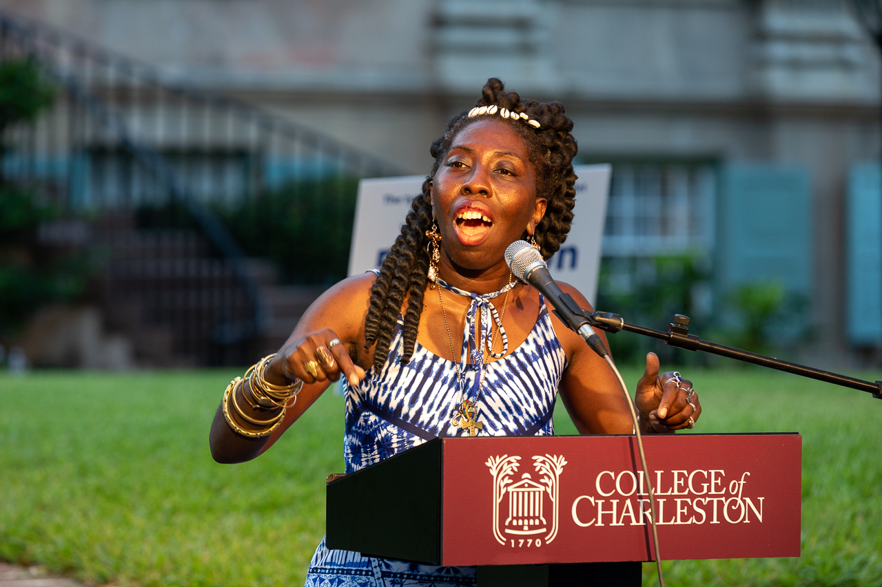 At SustainFest 2019 we welcomed Germaine Jenkins, the founder of Fresh Futures Farm and Queen Quet, Chieftess of the Gullah/Geechee Nation on August 29, 2019.