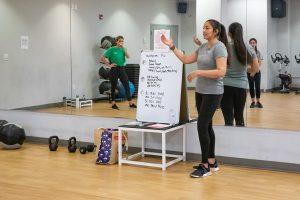Sara Coleman Teaches HIIT