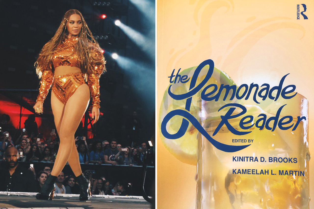 Singer Beyonce and her album Lemonade is the focus of a new academic book