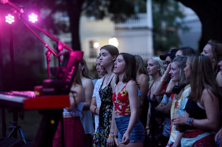 CofC Celebrates New Academic Year with Weeks of Welcome
