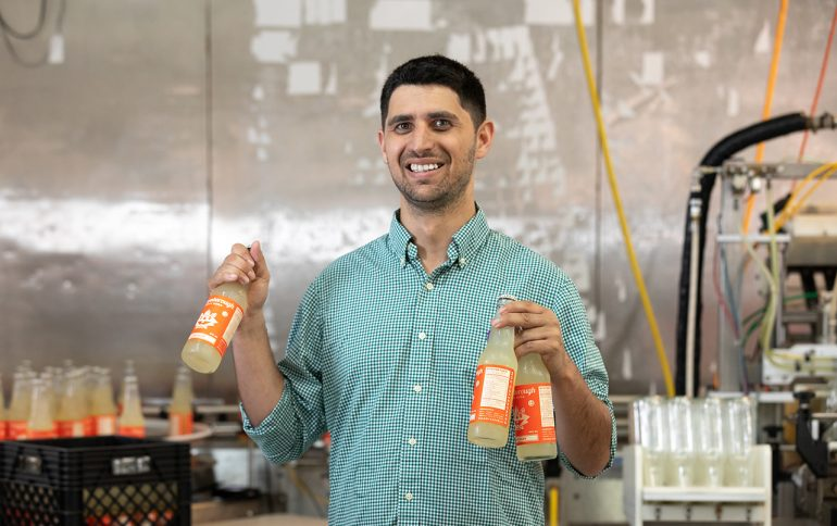 Alum Crafts Business out of Feel-Good Sodas