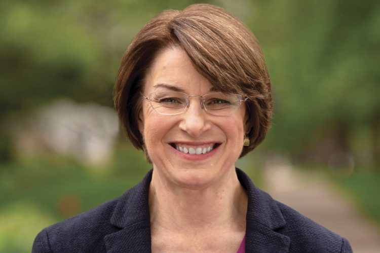 Amy Klobuchar to Speak at College's Bully Pulpit Series