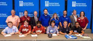 Charleston Regional Youth Apprenticeships signing day