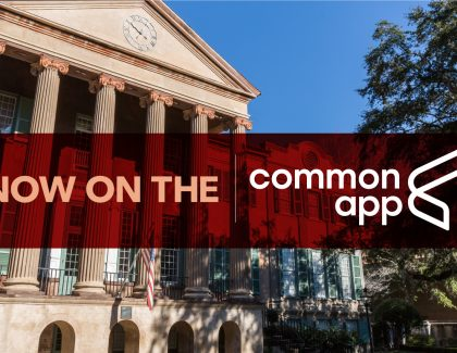 College of Charleston Now Accessible on Common App