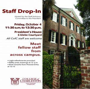Fall Staff Drop-In Flyer