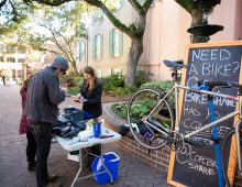 Get Moving With CofC's Bike Share Program