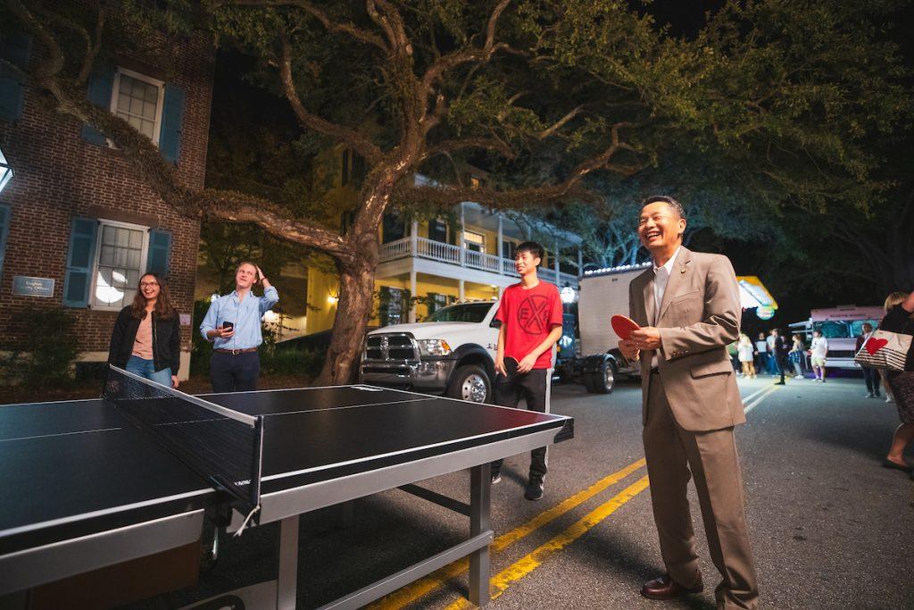 President Andrew Hsu's inauguration street festival.