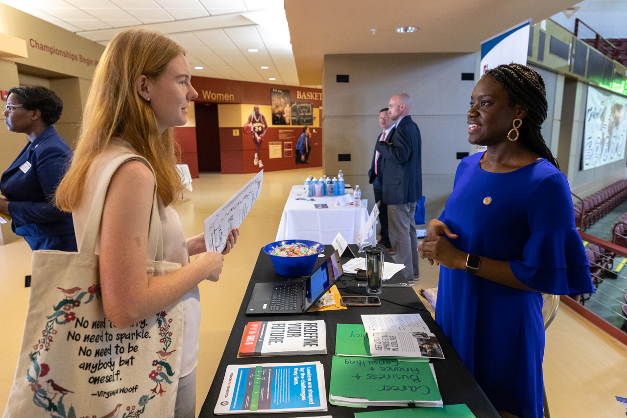The College of CharlestonCareer Center is hosted the Fall 2019 Career and Internship Fair and Graduate School Expo on Wednesday, October 2, 2019 at the TD Arena
