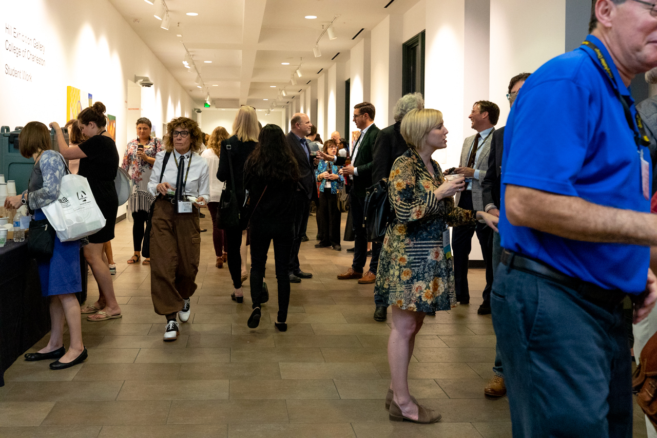 Southeastern Museums Conference (SEMC) Reception at the Halsey Institute on October 21, 2019.