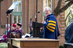 E. Gordon Gee, president of West Virginia University