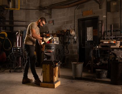 Students Are Fired Up About New Blacksmithing Class