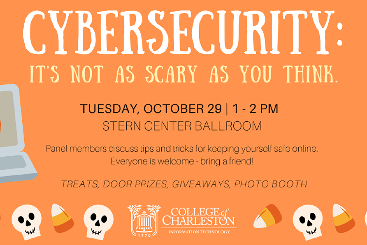National Cybersecurity Awareness Month at CofC