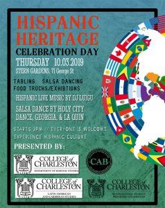 Hispanic Heritage Celebration Day poster