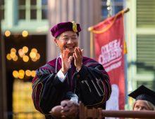 Take a Look Back on President Andrew T. Hsu's Historic Inauguration