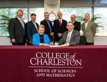 CofC and Naval Information Warfare Center Enter Partnership