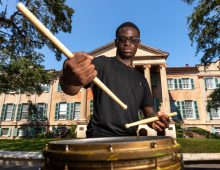 CofC Pep Band Drummer to Audition for 'America's Got Talent'