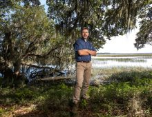 Academic Director Shines Light on Stono Preserve