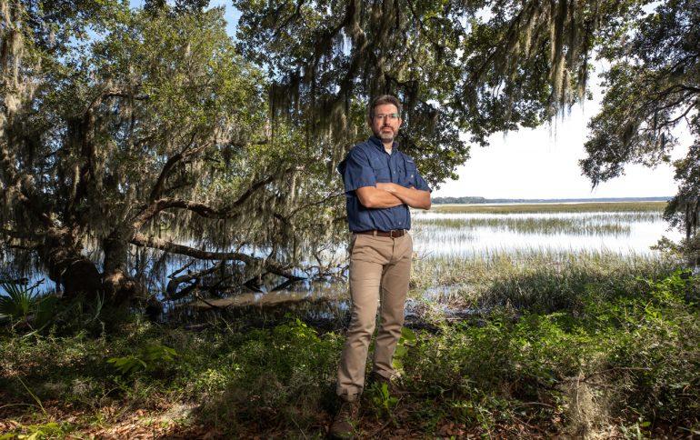 Academic Director Shines Light on Stono Preserve