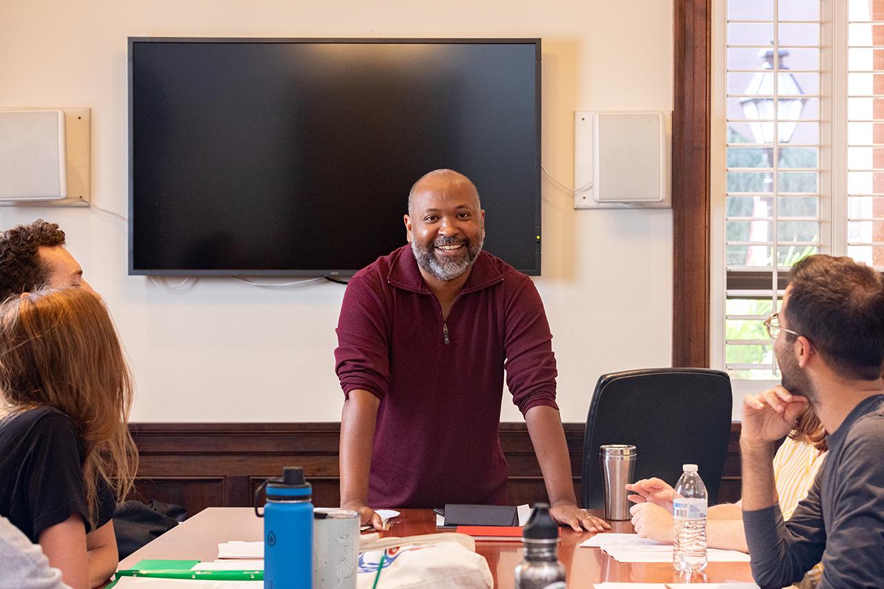 Photo of Gary Jackson, Associate Professor of English and Creative Writing