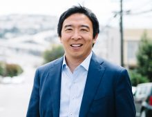 Andrew Yang to Speak at College's Bully Pulpit Series
