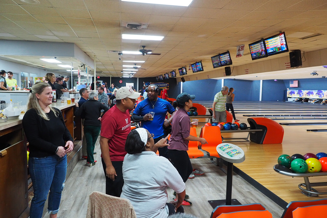 College of Charleston's Faculty and Staff Bowling League