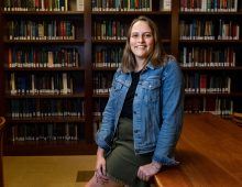 Graduate Student Finds Her Future in History