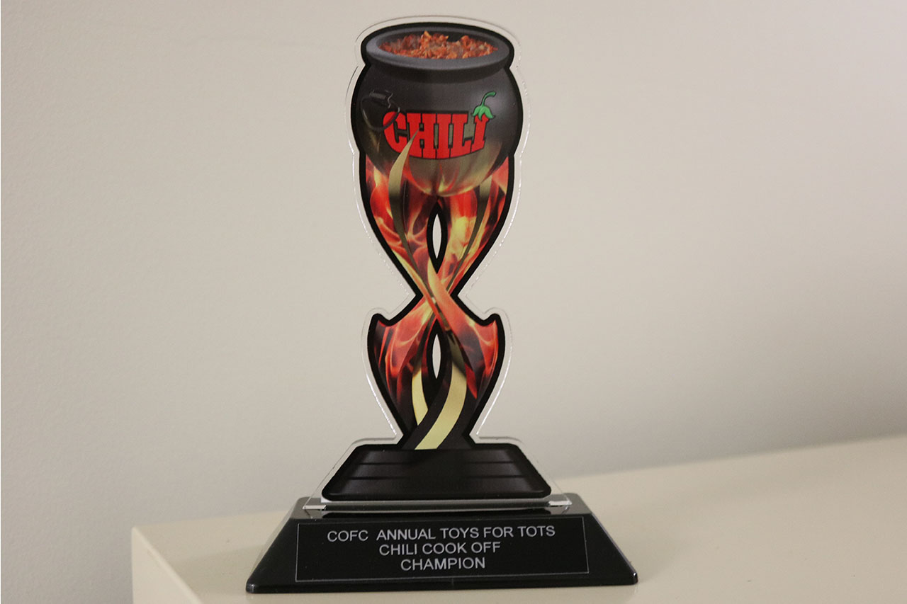CofC Chili Cook-off Trophy