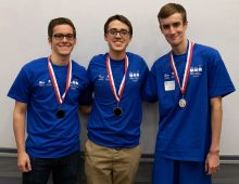 Computer Science Students Prevail at Programming Competition