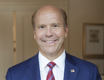 John Delaney to Speak at College's Bully Pulpit Series