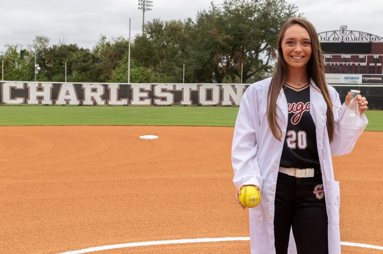 Softball Player Hits a Home Run with Medical Internship