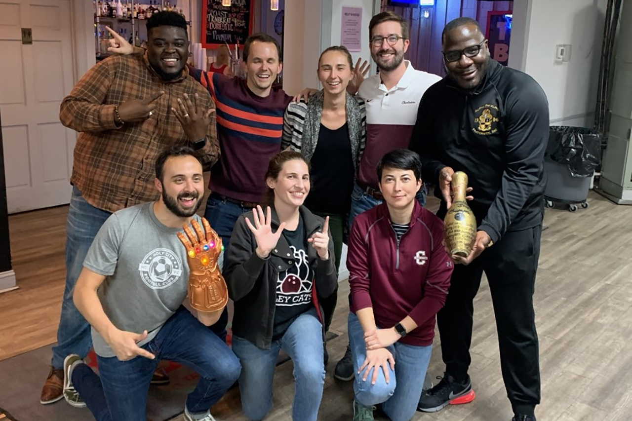 The Alley Cats are the winners of the Faculty and Staff Bowling League's fall 2019 season.