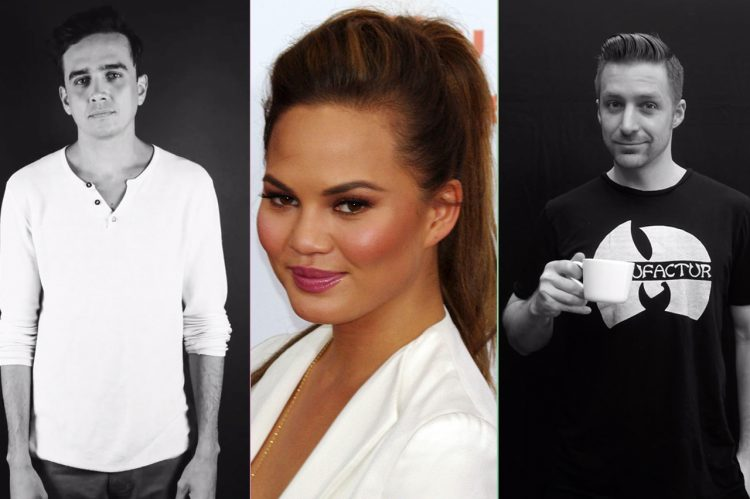 Chrissy Teigen Enlisted Two CofC Alums for Newest Project