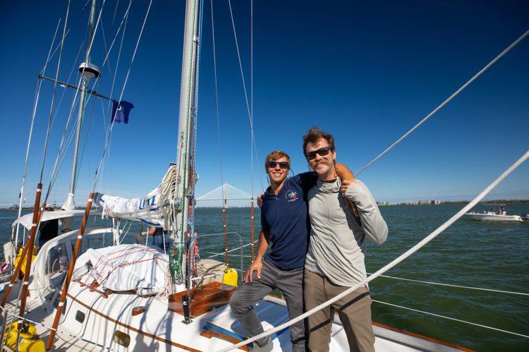 Apparent Winds Shape Alumni Duo's Big Ocean Adventure