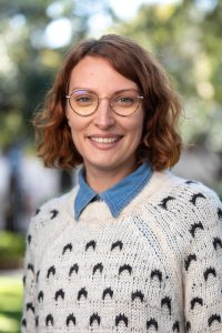 Melanie Seidel, Director of Development at the Halsey Institute