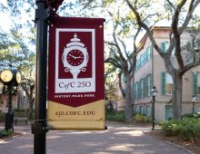 CofC Prepares to Celebrate 250th Anniversary in 2020