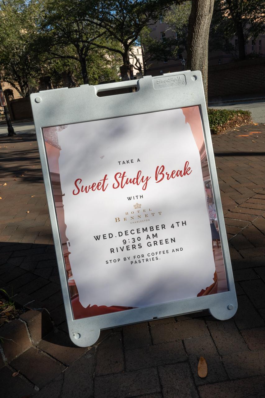 Sweet Study Break with the Bennett Hotel