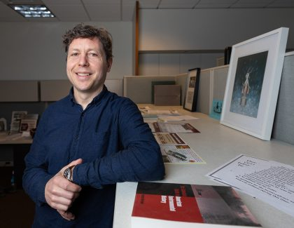 CofC Faces to Know: Burton Callicott