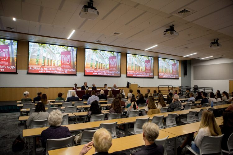 Fall Alumni Weekend Event Honors Alumni in Medicine