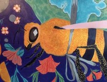 Student Art Adds Ambiance, Inspiration to Dining Halls