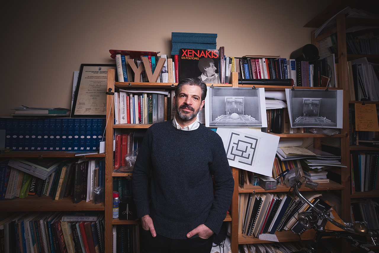 Yiorgos Vassilandonakis, Associate Professor of Music Theory and Composition.