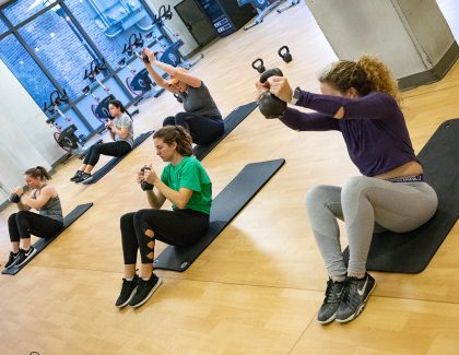 Spring 2020 Group Fitness Classes Free to Faculty, Staff