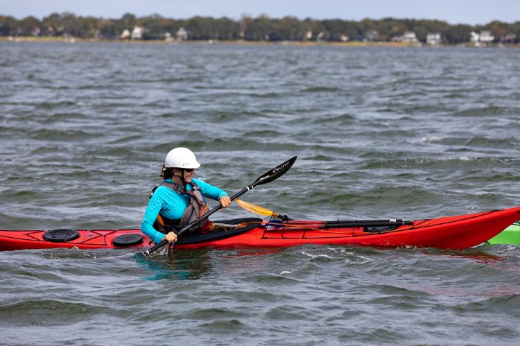 Top Kayaking Instructor Making Waves at the College