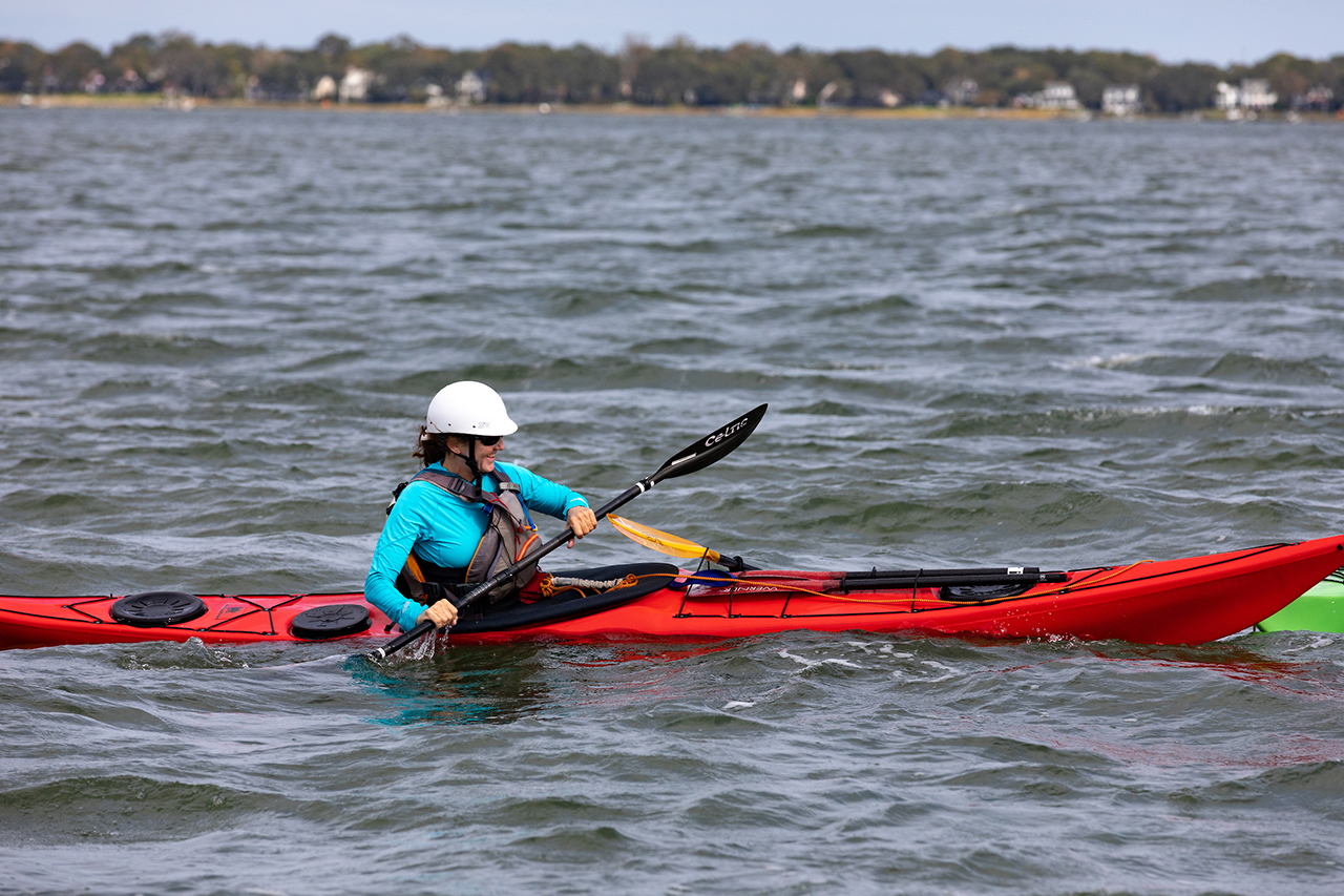 Kayak Drill with Coast Guard