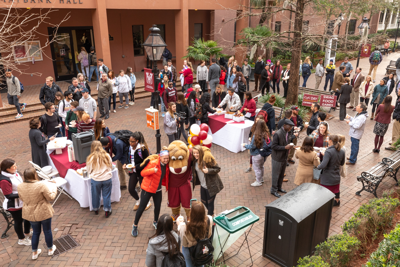 On January 30, 2020 The College of Charleston celebrated the official Founder's Day with what was known as CofC Day with a full day of events.