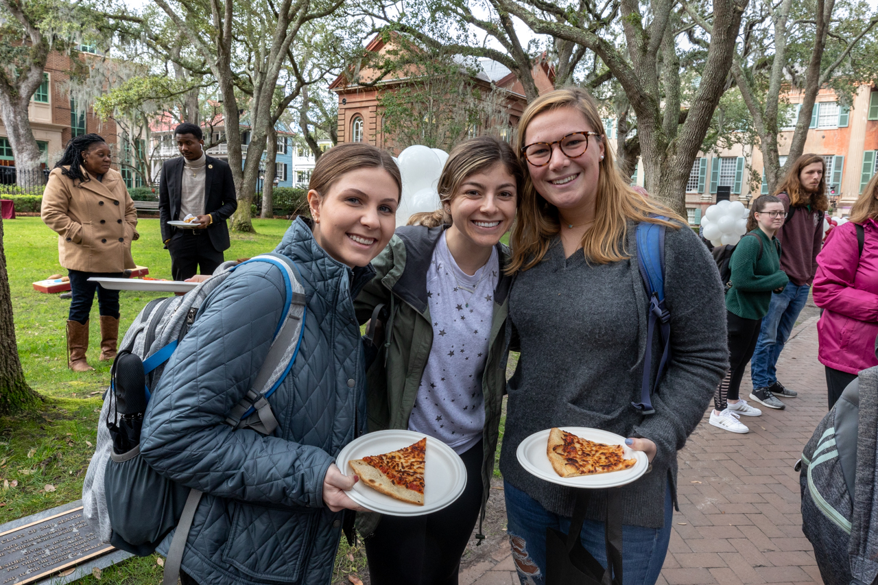 On January 30, 2020 The College of Charleston celebrated the official Founder's Day with what was known as CofC Day with a full day of events