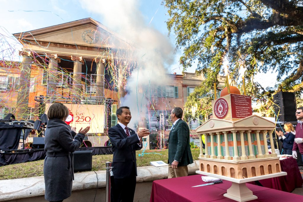 On January 30, 2020 The College of Charleston celebrated CofC Day with a full day of events.