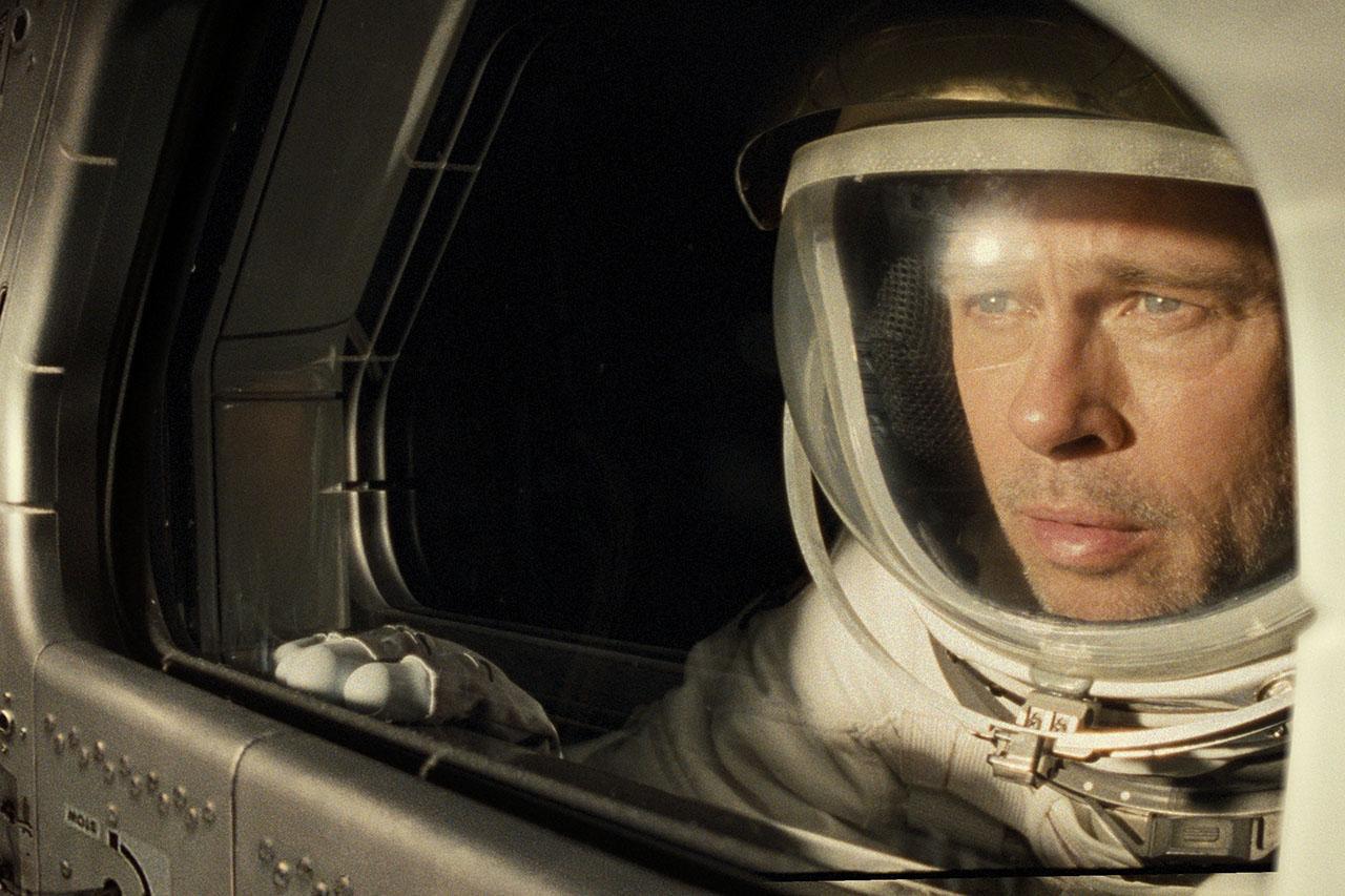 Brad Pitt as an astronaut