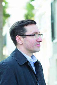 History professor Adam Domby